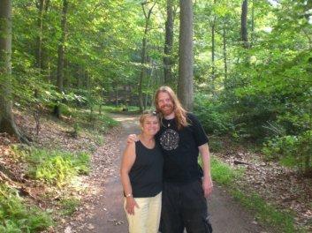 Mom and Joe at Lorimer in 2009